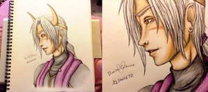 Dimitri Critrine :: ColorSketch :: FF Oc Villian