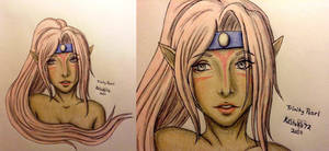 Trinity Pearl :: Color Sketch :: FF oc