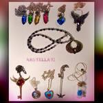 My Necklaces  ::Final Fantasy : Legend of Zelda:: by Kastella72