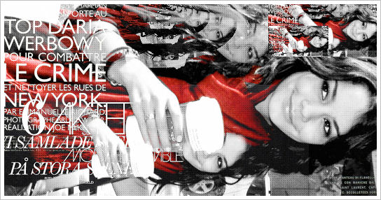 Vanessa Hudgens Red Scarf by soamber
