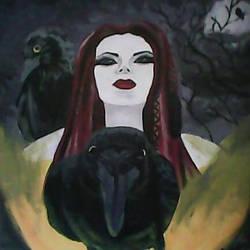 Goddess Morrigan Transition