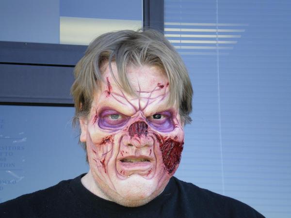 Zombie Face by Bracey-Stock