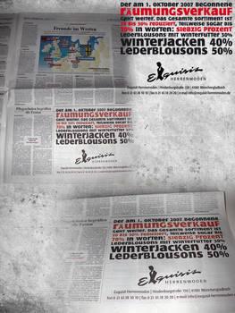 exquisit newspaper ad