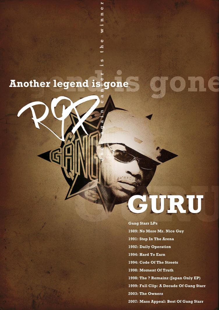RIP GURU by spicone