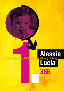 alessia is 1