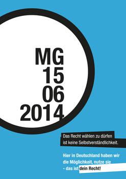 Mayor run-off Moenchengladbach