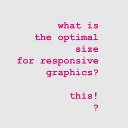 responsive graphic by spicone