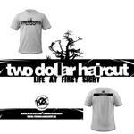two dollar haircut t-shirt