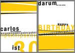 carlos birthday card