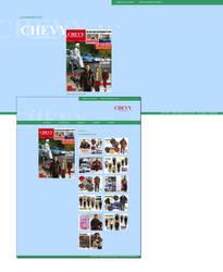 CHEVY Sportswear Website by spicone