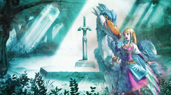 The Legend of Zelda - Zelda Signature Banner by Keylhen