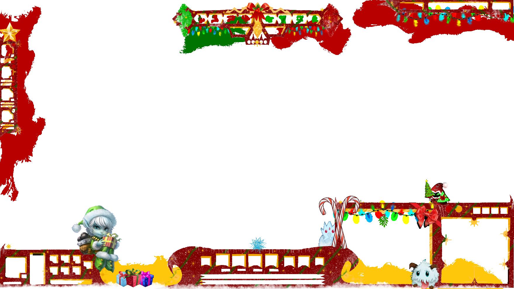 FREE overlay for christmas tristana poro by adream0fsin on DeviantArt