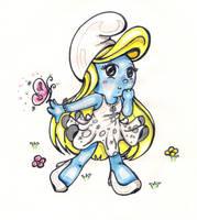 Smurfette by CandyArtist