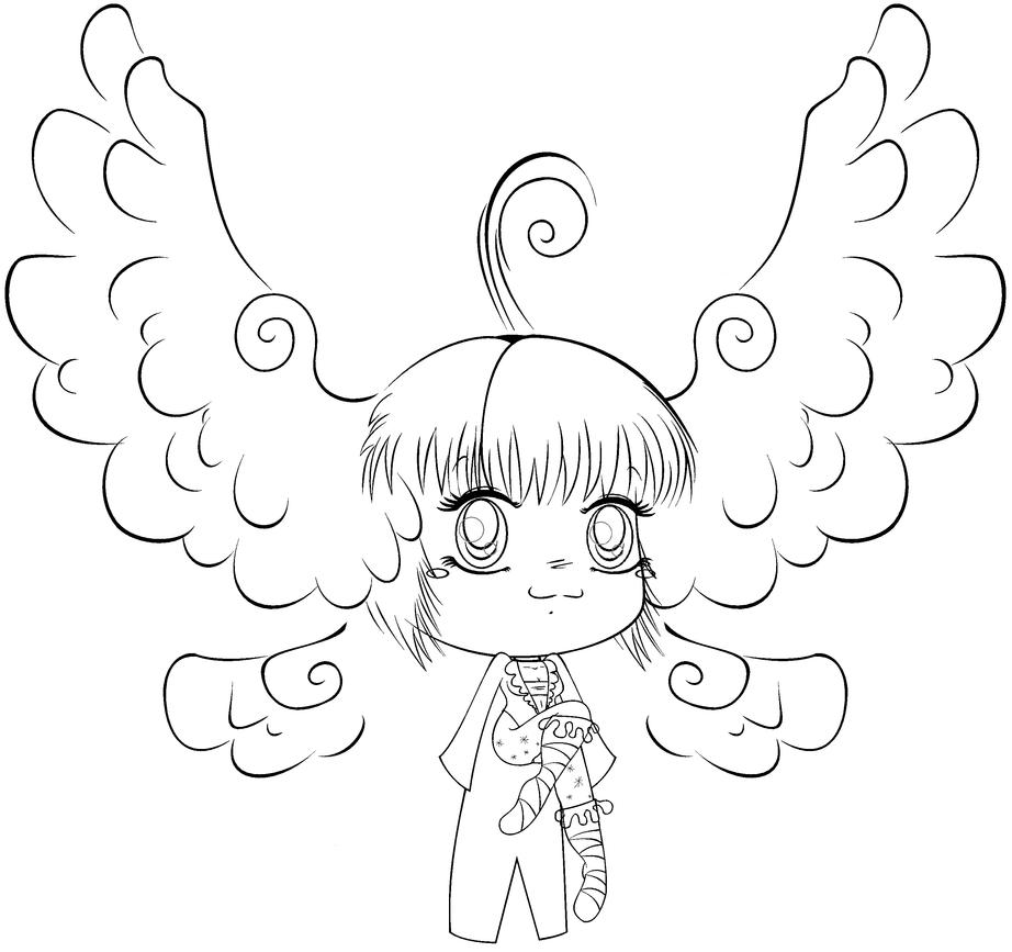 chibi angel wings - photo #14