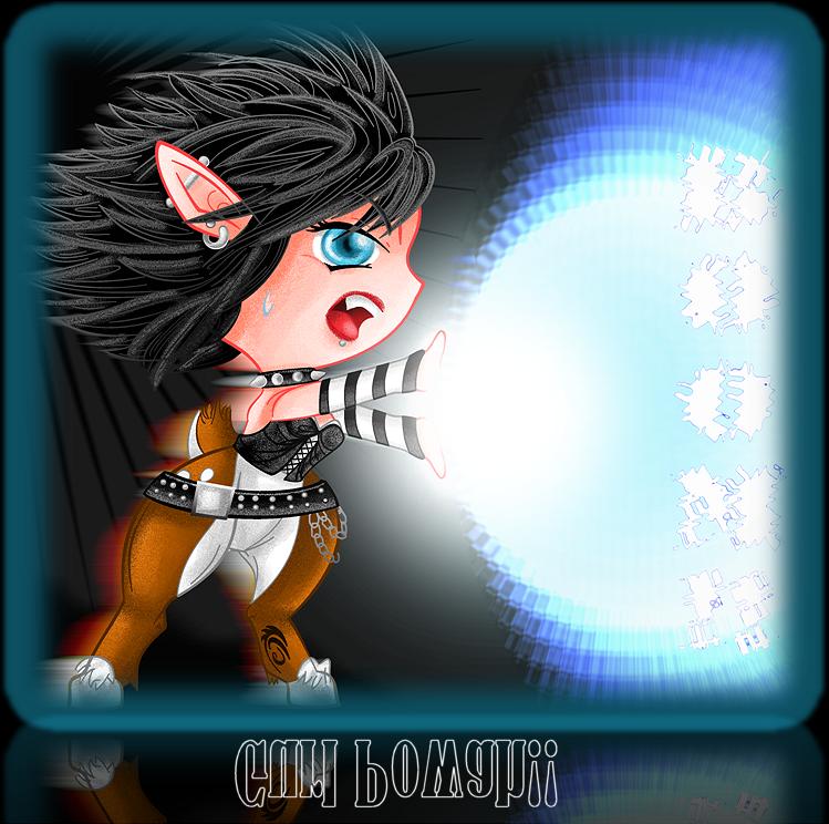 Chibi Emo Faun by CandyArtist