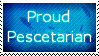 Proud Pescetarian Stamp by midairdodge
