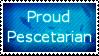 Proud Pescetarian Stamp by KooikerKaz