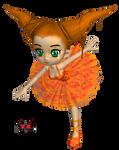 Harlekin Orange by MinacoSato