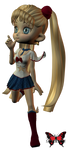 Sailor Moon by MinacoSato
