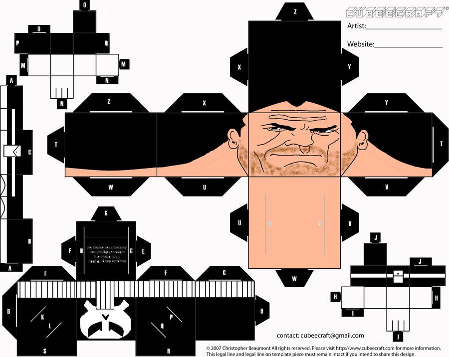 Punisher Cubee by ManosHandsofFate