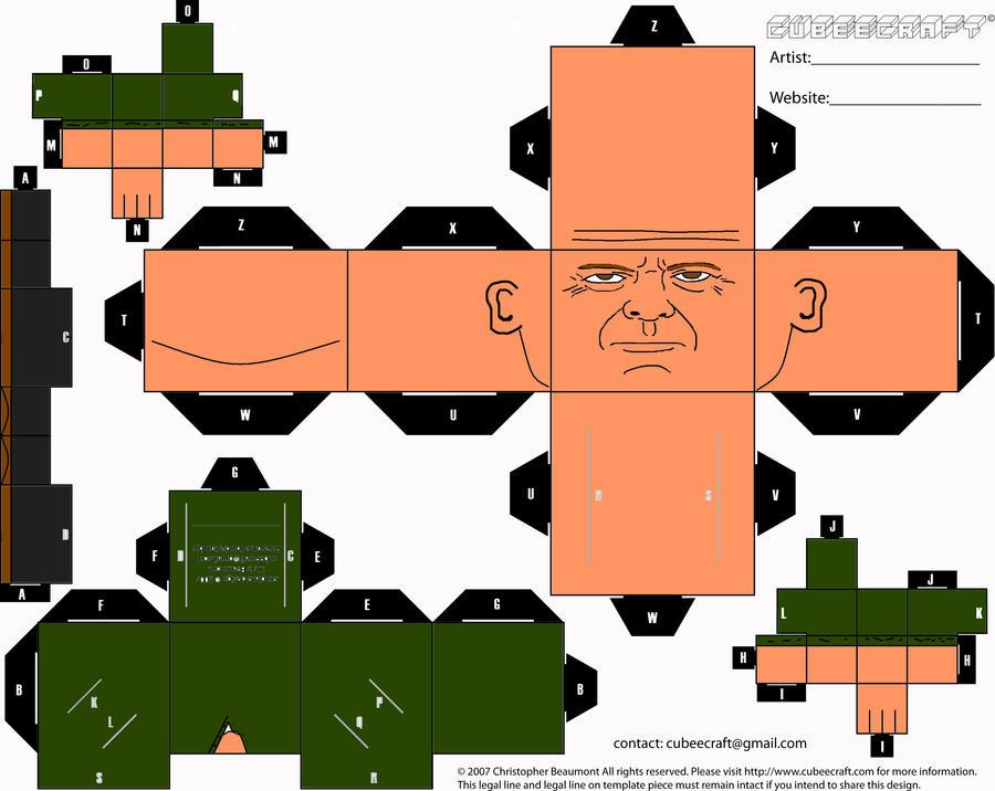 Die Hard 4 Cubee by ManosHandsofFate