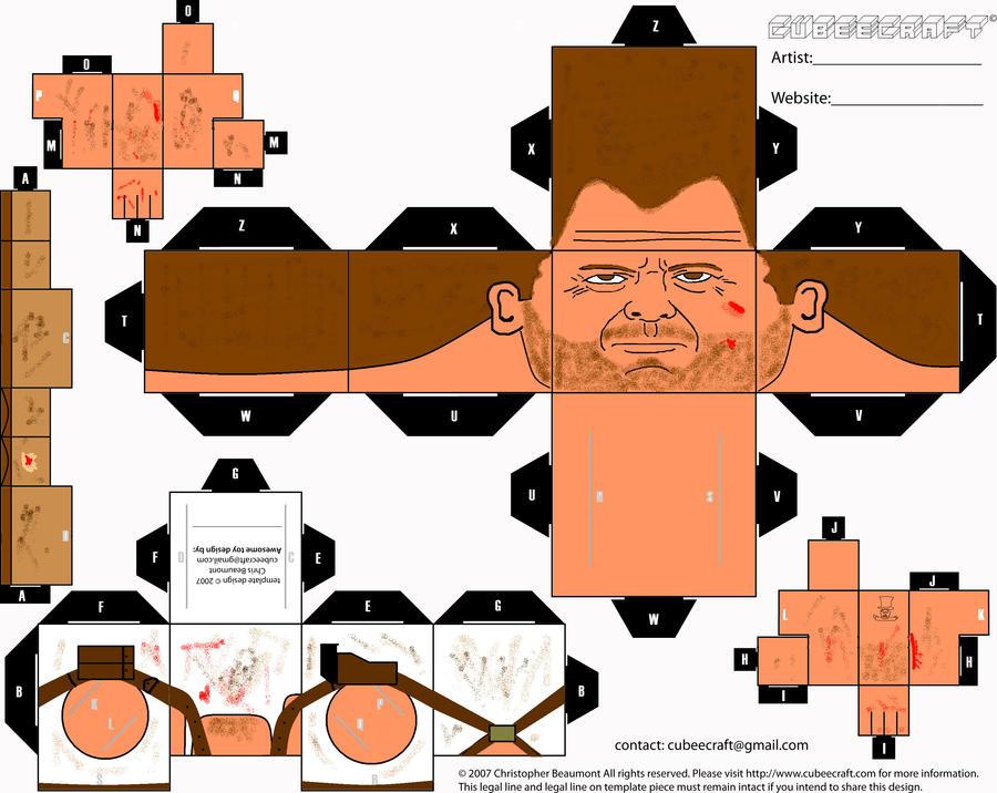 Die Hard 3 Cubee by ManosHandsofFate