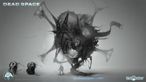 Boss Necromorph Concept