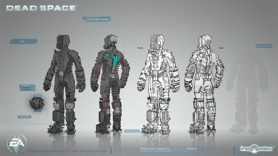 Space Suit Concepts by shirik