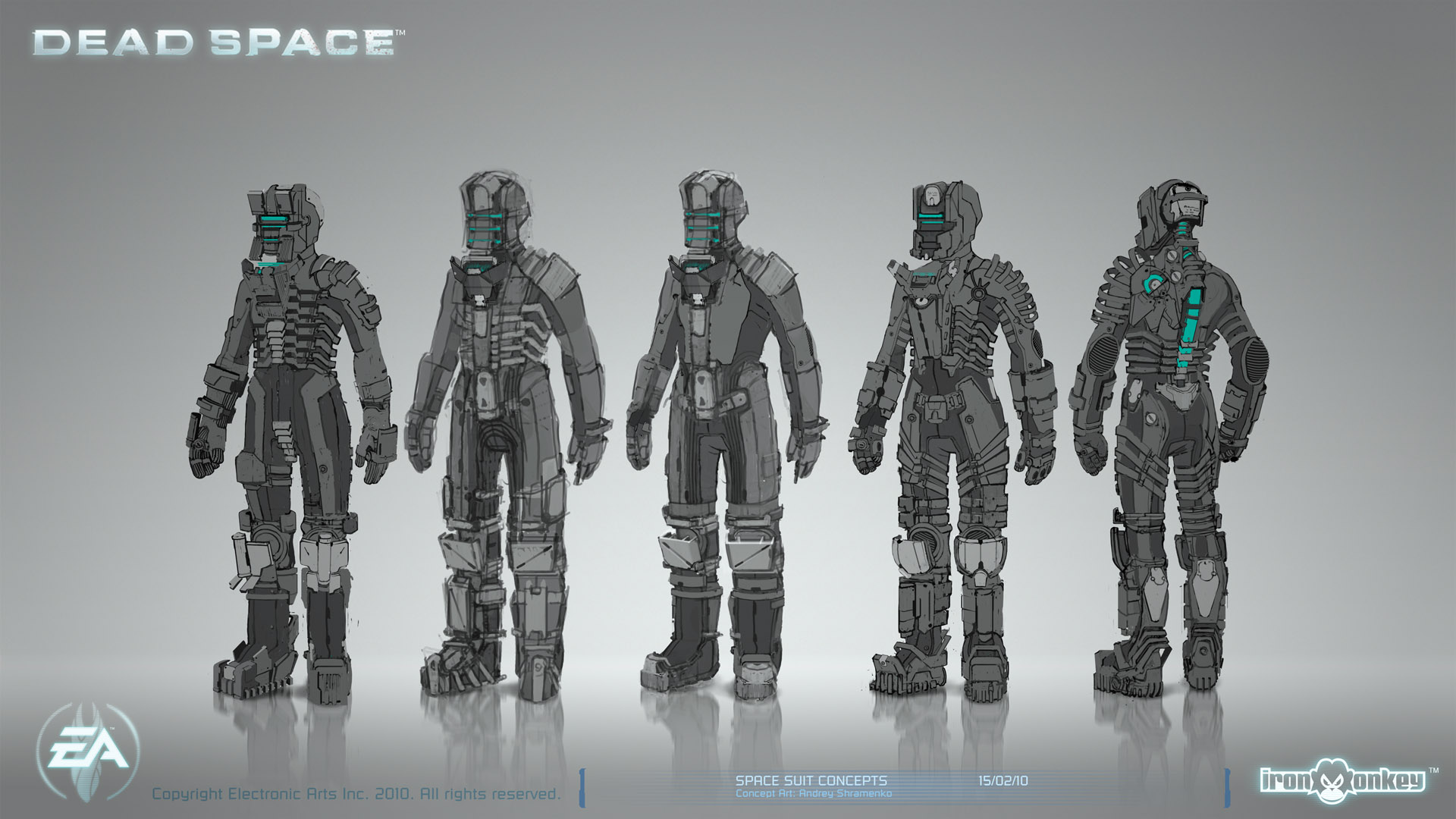 Dead Space - Space Suit Concepts 02 by shirik