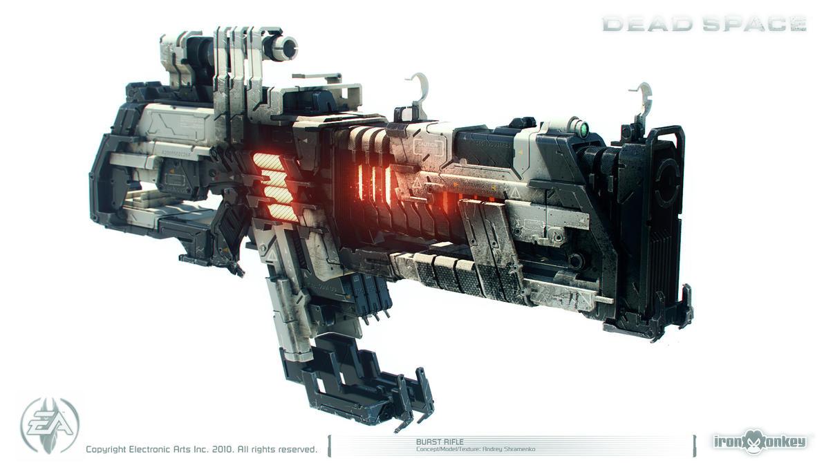 Dead Space - Burst Rifle by shirik