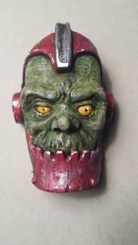 mini latex Trap-jaw mask