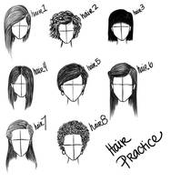 Hairstyle practice by balletbunhead20