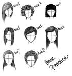 Hairstyle practice