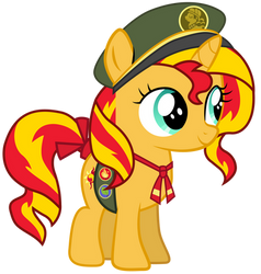 Filly Scout Sunset Shimmer