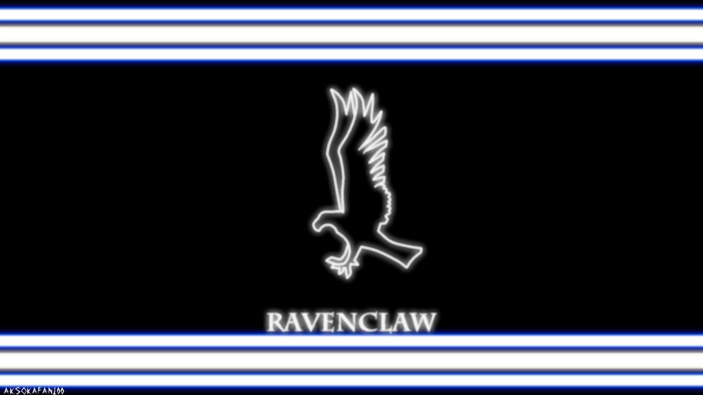 Ravenclaw House Neon Wallpaper (movie) by Ahsokafan100