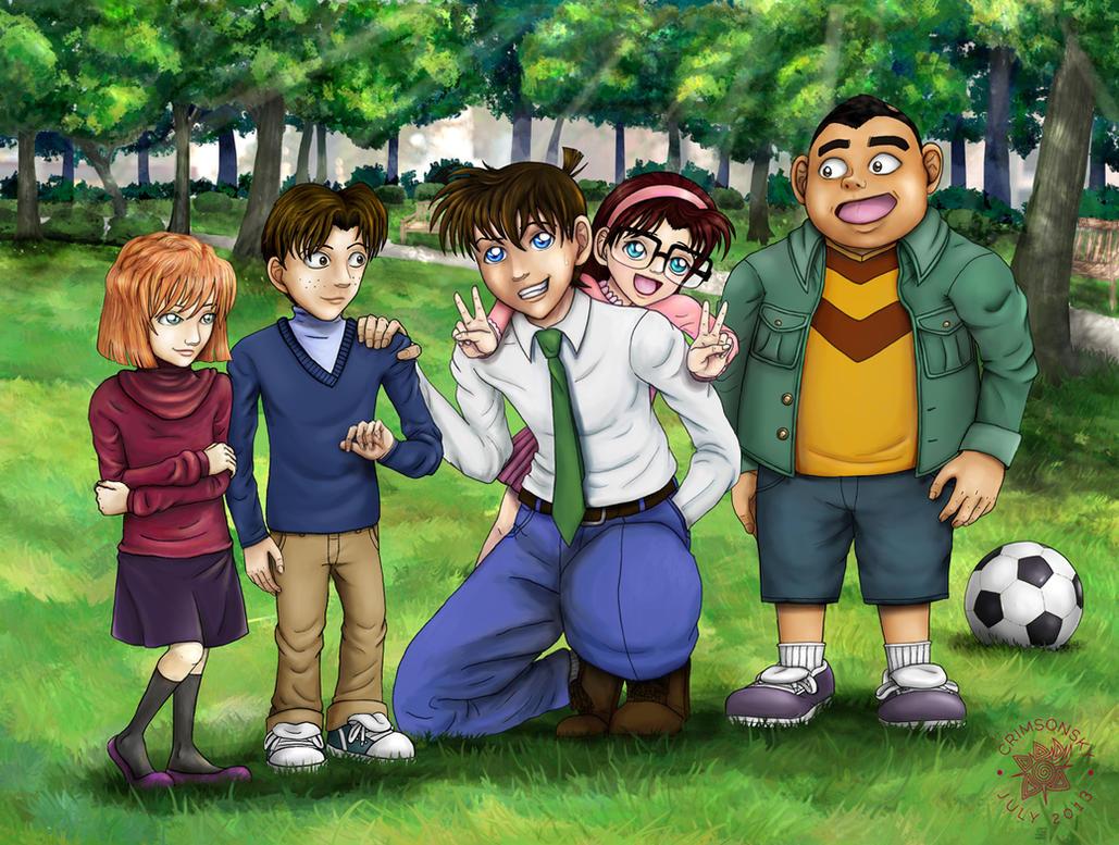 Detective Conan: Meitantei-niisan by CrimsonskyR
