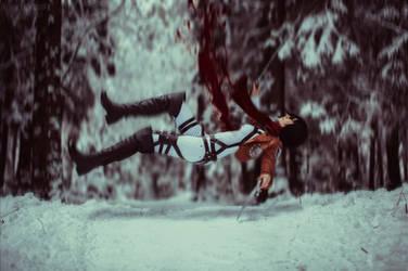 Winter cosplay: Mikasa Ackerman by Tovarish-N