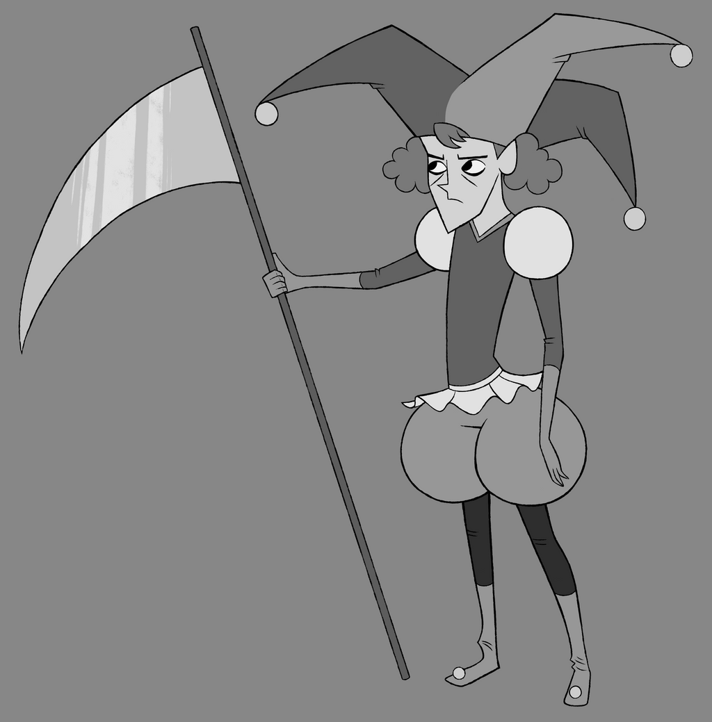Pester Jester - 2014 Resume Character by KnoxRobbins