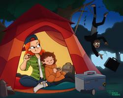 Dual Purpose Camping Trip (Agent Green)