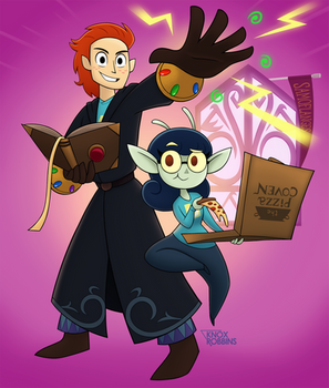 The Two That Turned Down Hogwarts (Original)