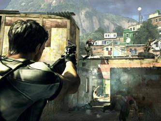Chris Redfield Modern Warfare by Squall-Darkheart