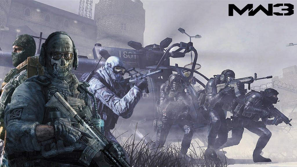Call Of Duty Modern Warfare 3 Ghost Wallpaper By Squall Darkheart