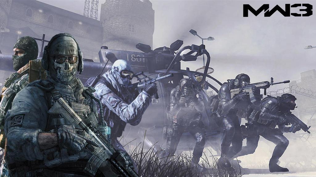 Source Fc00deviantart Report Call Of Duty Modern Warfare 3 Guns Wallpaper