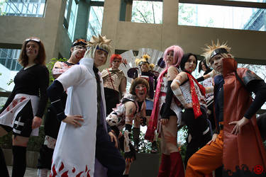 Naruto Group Shot 1 - SC09 by SharinganLord216