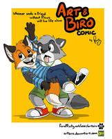 Art and Biro comic by artbiro