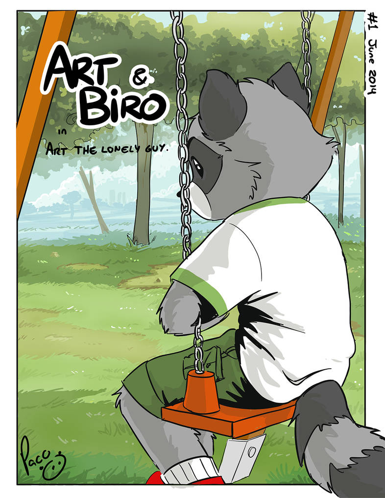 Art and Biro cover issue 1