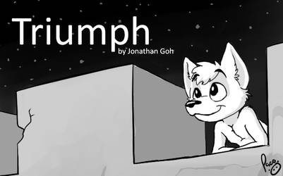 Triumph, by Jonathan Goh [COVER] by artbiro