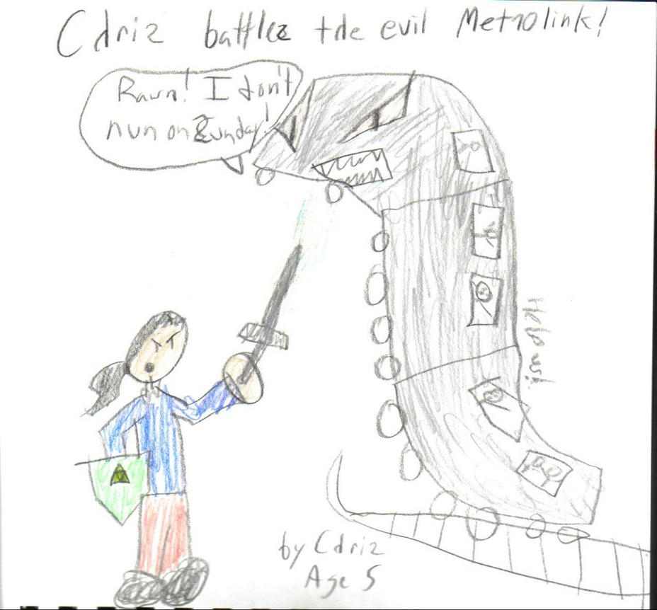 5YOC - Chris vs. The Metrolink by ACitizenoftheWorld