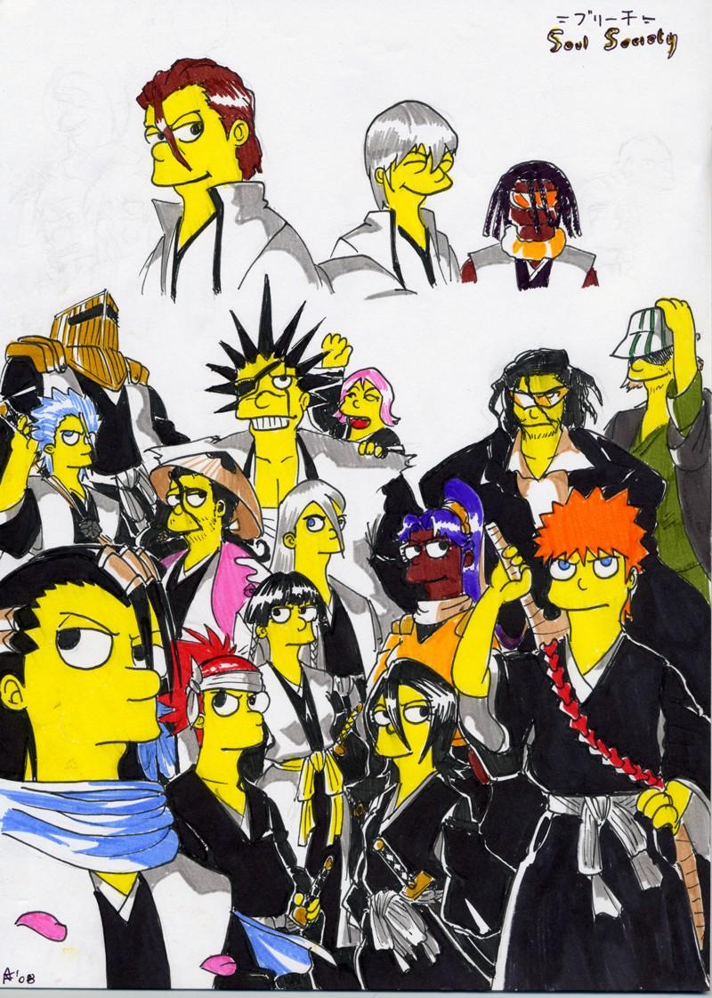 Bleach 'S'oul Society by G1d4n