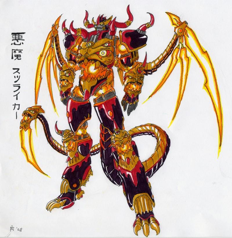 Akuma Striker Leviathan by G1d4n